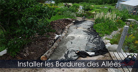 Faire des all es de jardin en gravier bordures pour all es - Plantes pour bordures d allees ...