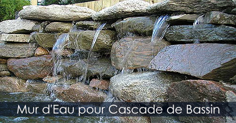 cascade de jardin pour bassin ext rieur et mur d 39 eau guide pratique. Black Bedroom Furniture Sets. Home Design Ideas