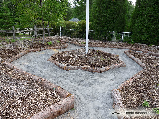 Jardin urbain en fa ade plan id es cr er des all es for Installer gravier jardin